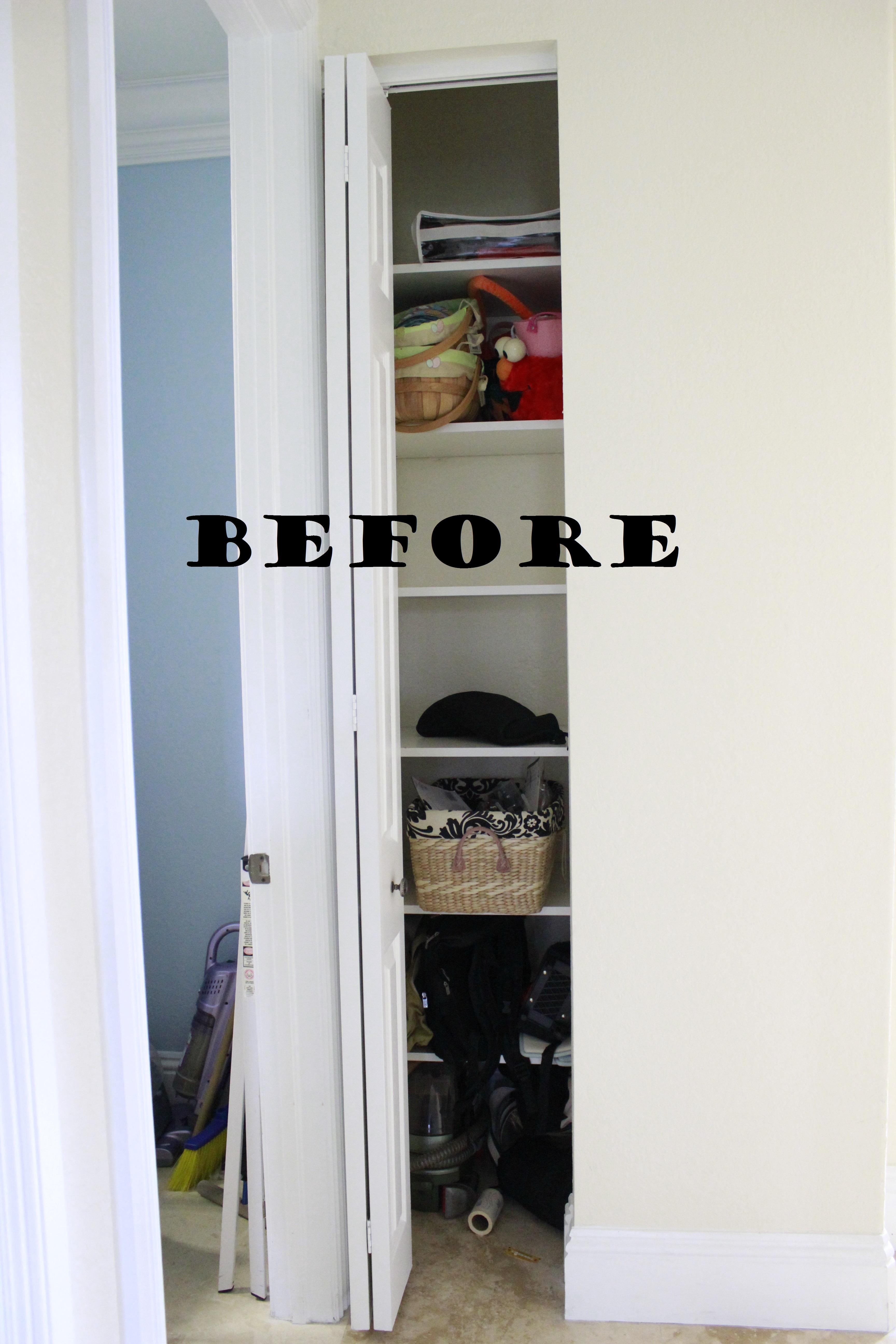 Narrow Linen Closet Organization Graceful Order