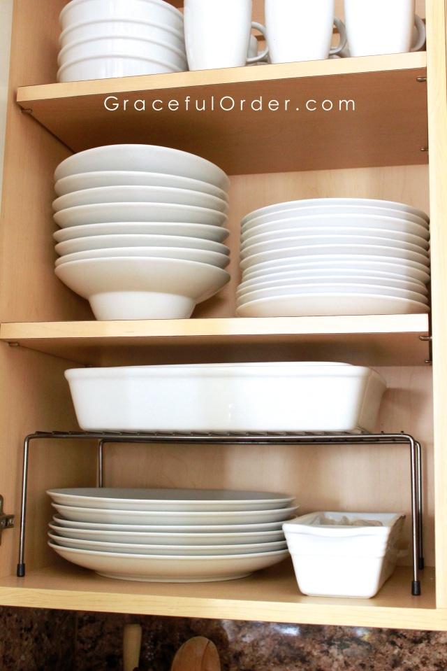 Organizing Plates