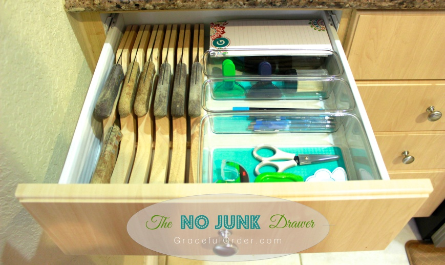 Junk Drawer Organization